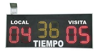 Control De Tiempo Y Puntos Para Canchas De Futbol (reloj)