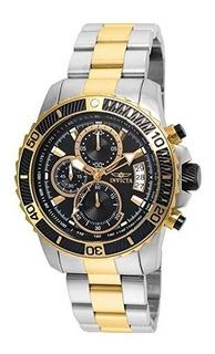 Reloj Invicta Hombre 22418 Pro Diver Acero Inox. Negro Gtia.