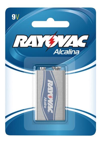 Pilha Rayovac Alcalina Bateria 9v #n Atc 98190