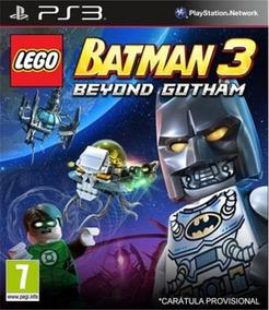 Lego Batman 3 Beyond Gotham Ps3 Codigo Psn