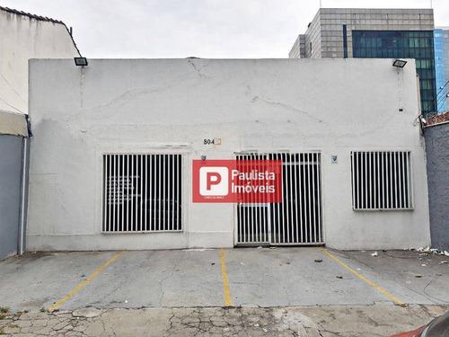Imagem 1 de 12 de Casa Com 4 Dormitórios Para Alugar, 165 M² - Campo Belo - São Paulo/sp - Ca3041
