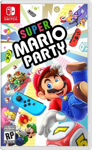 Imagen 1 de 8 de Super Mario Party Nintendo Switch Nuevo