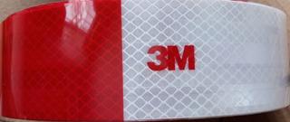 Cinta Reflectiva Certificada Alta Calidad 3m X 1 Metro