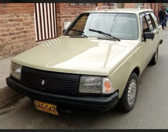 Renault 18 Break Motor 2.0 1987 Beige 4 Puertas