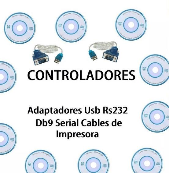 Controladores Para Cable Adaptador Usb Rs232 Db9 Serial