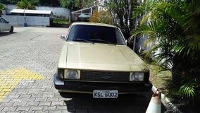 Chevrolet Opala Motor 4.1 Comodoro Cor Beje 2 Portas A Golin