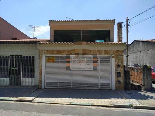 Sobrado Com 4 Dormitórios À Venda, 198 M² Por R$ 630.000,00 - Jaraguá - São Paulo/sp - So0791