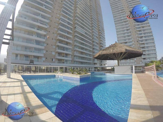 Apartamento 3 Dormitórios,sacada Gourmet, Lazer Completo, Praia Grande. - Ap3376