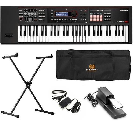 Kit Teclado Sintetizador Xps30 Roland Xps-30 Kit Completo