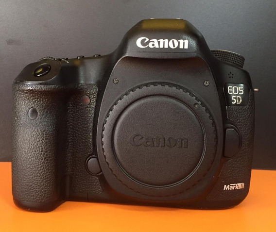 Canon Eos 5d Mark Iii (corpo, Markiii) 112 K Somente