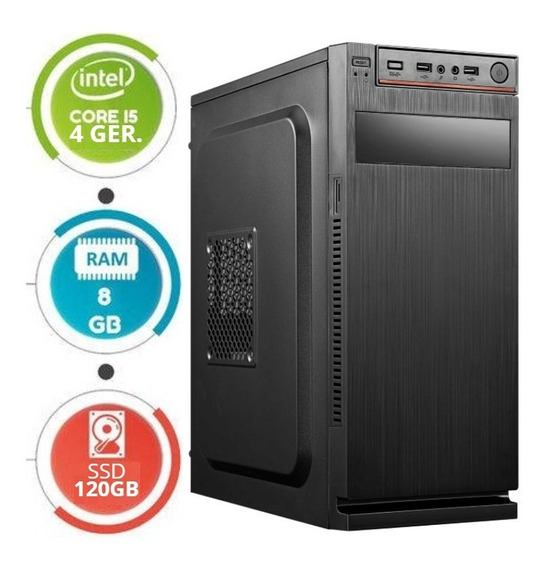 Cpu I5/8gb/ssd 120gb Em 12x S/juros Super Oportunidade!