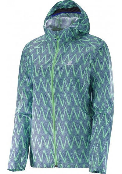 Campera Salomon Rompeviento Fast Wing Mujer (382681) S+w