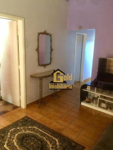 Casa Com 2 Dormitórios Para Venda, 101 M² Por R$ 406.600,00  - Vila Amélia  - Ribeirão Preto/sp - Ca0632