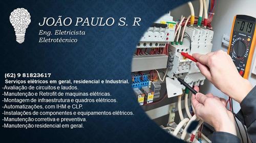 Imagem 1 de 5 de Eletricista Industrial E Predial.