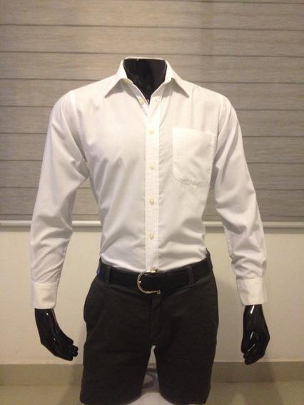 Camisa Marca Polo Para Caballero Color Blanco Talla Ch
