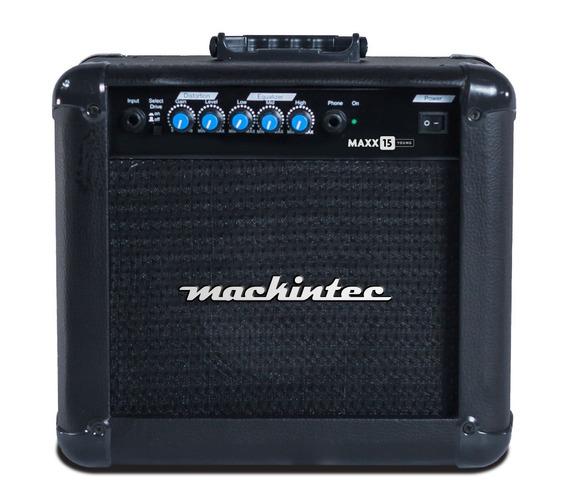 Cubo Ativo Para Guitarra 15 W Rms Mackintec Maxx 15 8 Homs