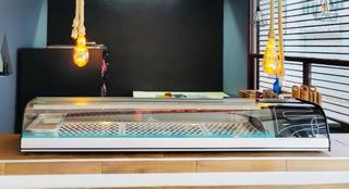 Vitrina Refrigerada Para Sushi/pizza Asber Actc-69-sl