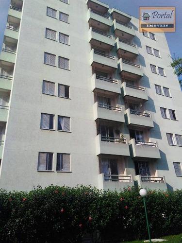 Imagem 1 de 14 de Apartamento Com 3 Dormitórios À Venda, 80 M² Por R$ 350.000,00 - Jardim Tamoio - Jundiaí/sp - Ap0115