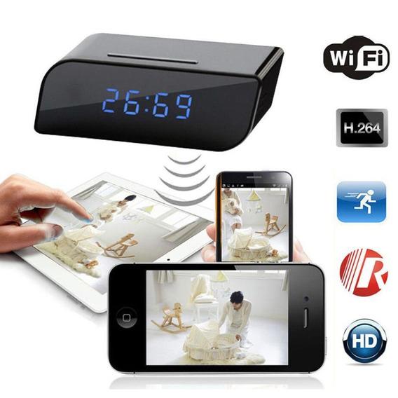 Reloj Camara Seguridad Espia Oculta 1080p Wifi 32gb