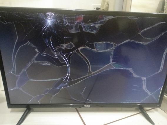 Smart Tv Philco Tela Quebrada