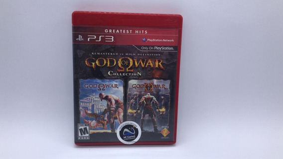 God Of War Collection - Ps3 - Midia Fisica Em Cd