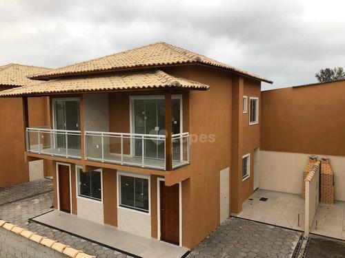 Imagem 1 de 9 de Casa Com 2 Quartos Por R$ 240.000 - Jardim Atlântico Central (itaipuaçu) /rj - Ca21417