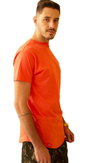 Kit 5 Camisetas Masculina Longline Over Caimento Perfeito