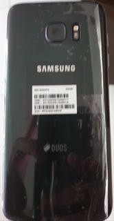 Celular Samsung S7 Edge Duos Con Factura + 2 Carcasas