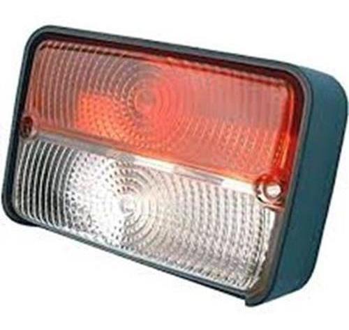 Lanterna Dianteira Bicolor 12v Fiat Allis J Deere Massey Fer