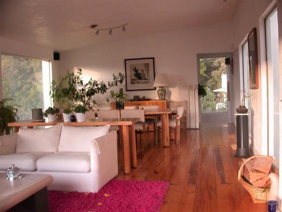 Casa En Cuajimalpa Con Hermoso Jardín 20 Min De Santa Fe