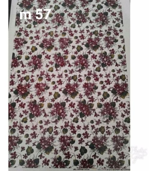 Calco Vitrificable Flores M57-m53