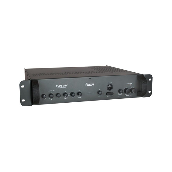 Amplificador Para Som Ambiente 600w 2 Canais Nca Pwm