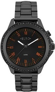 Relógio Euro Feminino Preto Led Eu2036yme/4p