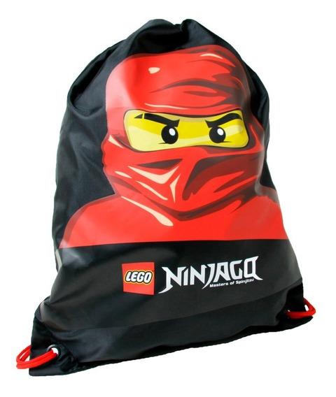 Bolsa Multiusos Lego Para Niño Ninjago Estampado De Ninja