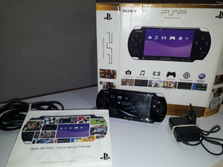Consola Sony Psp Flasheada 4gb+ Cargador + 8 Juegos Original