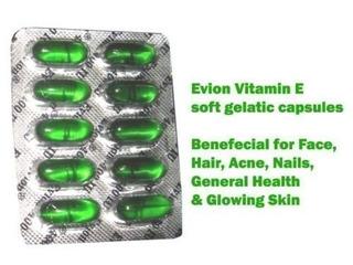 Evion Cápsulas Vitamina E Para Brillante Cara Fuerte Acné Cl