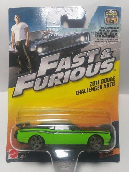 Fast & Furious Dodge Challenger Srt8 2011 5/32 Escala 1/55