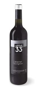 Vino Latitud 33 Cabernet Sauvignon 750ml Tinto