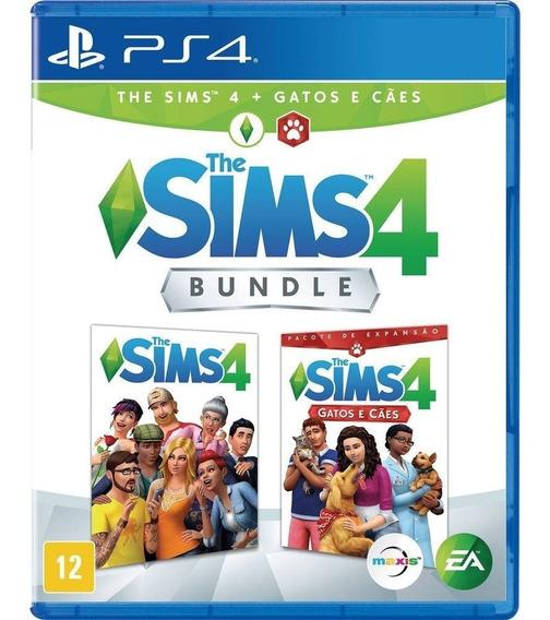 Jogo The Sims 4 Cães E Gatos - Bundle - Ps4