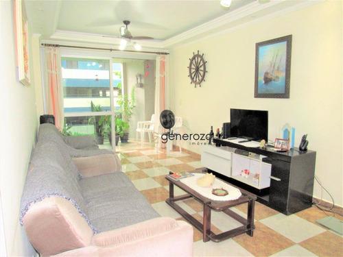 Imagem 1 de 15 de Apartamento À Venda No Centro De Pitangueiras, 02 Dormitórios, Com Sacada E Garagem - Ap0383