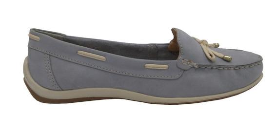 Sapato Mocassim Bottero Em Couro Azul 306101 Pares N34 E N39