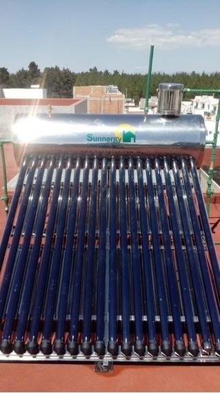 Calentador Solar Acero Alta Presión 215 Litros/20 Tubos.