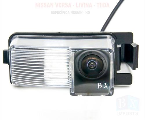 Camera De Ré Nissan Livina 2010 2011 2012 Específica Hd Nova