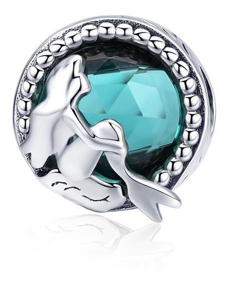 Charm Sirenita Ariel Estilo Pandora 100%plata Sirena
