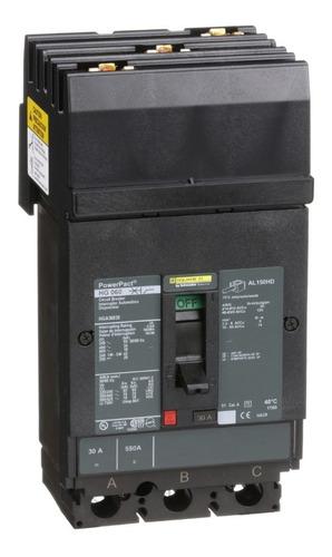 Imagen 1 de 1 de Interruptor Termomagnético Hga 3p 30a Schneider Hga36030