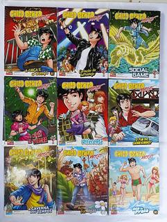 Chico Bento Moço Panini 2008 Com 8 Manga Hq Frete Grátis
