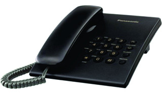 Teléfono Analógico Alámbrico Panasonic Kx-ts500meb