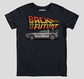 Camiseta Máscara De Látex Delorean Back Future L Homb Envio