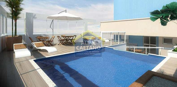Apartamento Com 2 Dorms, Guilhermina, Praia Grande - R$ 289 Mil, Cod: Ac073035 - Vac073035