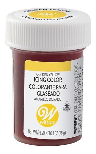Imagen 1 de 5 de Gel Colorante Para Glaseado Amarillo Dorado Original